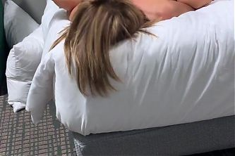 Wife spreads her legs for the fat black cock