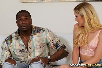 Kali Roses Takes Robs BBC In Her Neighbours House