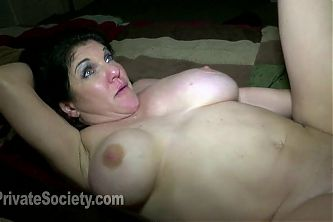Anal MILF Messes The Bed Up